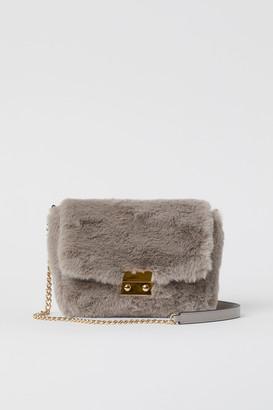 H&M Faux Fur Shoulder Bag