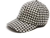 Larose Vintage tweed-wool baseball cap