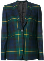 Paul Smith tartan fitted blazer