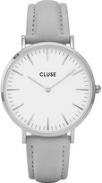 Cluse CL18215 La Bohà ̈me stainless steel and leather watch