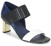 United Nude MIRA SANDAL Blue / Black / White