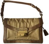 Prada Camel Python Handbags