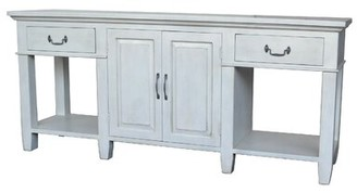 """Rosalind Wheeler Mease 82.2"""" Solid Wood Console Table"""