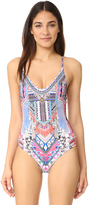 Camilla Crossover Scoop One Piece Swimsuit