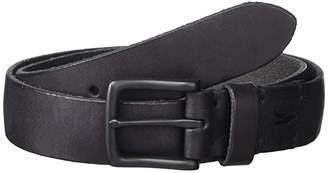 AllSaints 32 mm Polished Leather Strap w/ Harness Buckle