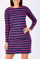 Hatley NEW Womens Short Dresses Long Sleeve Stripe Dress Size XL NavyStrip