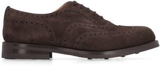 Church's Churchs Amersham Suede Brogue Lace-up Shoes