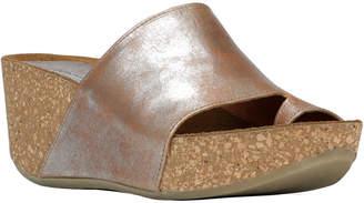 Donald J Pliner Ginie2 Leather Wedge Sandal