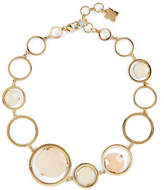BCBGMAXAZRIA Natural Stone Link Necklace