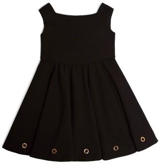 Versace Kids Eyelet-Detail Dress (4-14 Years)