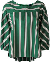 Aspesi striped oversized top - women - Cotton - 38