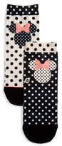 Stance Girl's Disney Minnie Mouse Sprinkled Socks