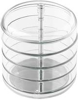 InterDesign Fashion Jewelry Organizer with Four Swivel Trays for Rings, Earrings, Bracelets, Necklaces