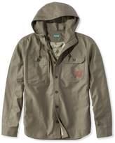 L.L. Bean L.L.Bean Traverse Lightweight Hooded Shirt Jac Men's Regular