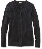 L.L. Bean Classic Cable Sweater, Cardigan