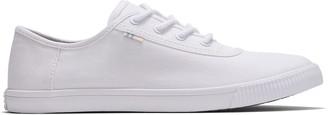 Toms White Canvas Women's Carmel Sneakers Topanga Collection