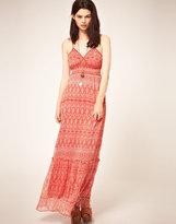 Chiffon Style Maxi Dress
