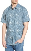 Billabong Men's Tropics Print Woven Shirt