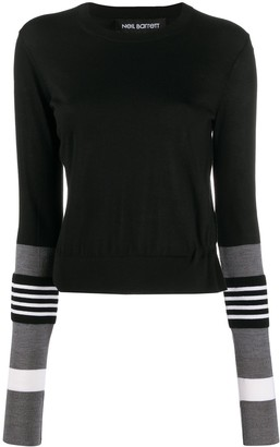 Neil Barrett Stripe Detailing Jumper