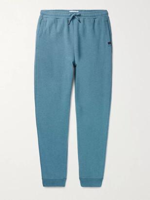 Derek Rose Devon 3 Loopback Cotton-Jersey Sweatpants - Men - Blue