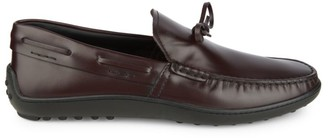 Tod's Leather Boat Shoes