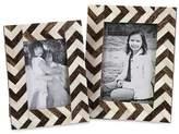 """Aurora Frame Set - 5""""x7"""" Brown/Ivory"""
