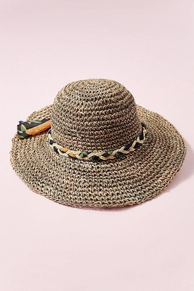 Anthropologie Carlena Packable Floppy Hat
