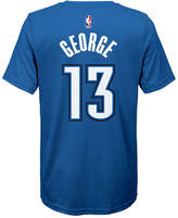 Nike Paul George Oklahoma City Thunder Icon Name & Number T-Shirt, Big Boys (8-20)
