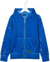 Diesel teen printed hoodie - kids - Cotton - 16 yrs