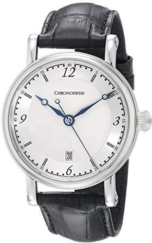 Chronoswiss Men's CH-2843.1/11-1 Sirius Analog Display Automatic Self Wind Black Watch