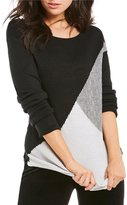 Westbound Petites Circle Hem Sweater