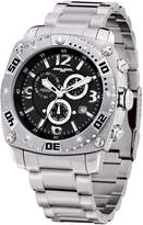Jorg Gray Men's Chronograph Textured Dial Stainless Steel