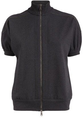 Brunello Cucinelli Short-Sleeved Cardigan