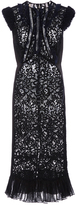 Rebecca Taylor Vien Lace mix Dress