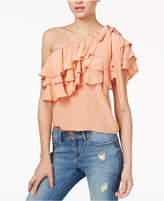 Endless Rose Ruffled One-Shoulder Top