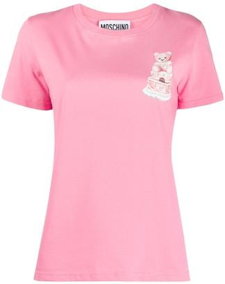Moschino teddy print T-shirt