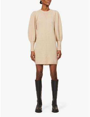 BA&SH Nancy wool-blend mini dress