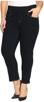 Jag Jeans Plus Size Amelia Pull-On Slim Ankle Comfort Denim in After Midnight