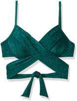 LaBlanca La Blanca Women's Wrap Underwire Push-up Bra Bikini Top