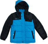 Big Chill Blue Colorblock Bubble Jacket - Toddler & Boys