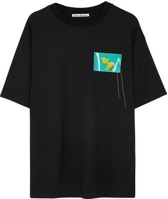 Acne Studios Jellyfish-print jersey T-shirt