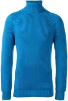 Lc23 cable knit turtleneck jumper