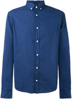 Armani Jeans button-down collar shirt - men - Cotton - S