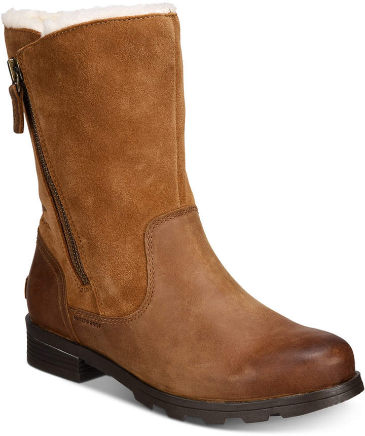 bbed442f36cb8c Sorel Faux Leather Boots For Women - ShopStyle Canada