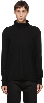 Acne Studios Black Roll Neck Sweater