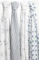 Aden Anais aden + anais Classic Swaddling Cloths (4-Pack)