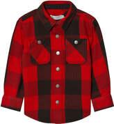 Stella McCartney Red Check Button-Up Shirt