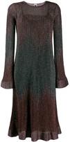M Missoni metallic knitted dress