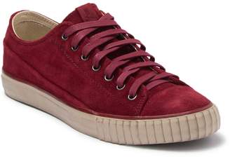 Bally Washed Suede Sneaker