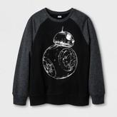 Star Wars Boys' BB8 Silhouette Sweatshirt - Black